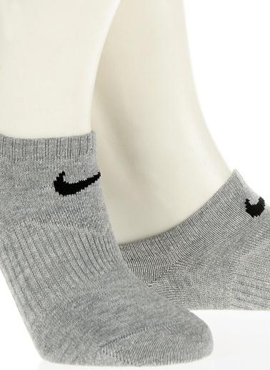 Nike Spor Çorap | 3'lü Paket Gri